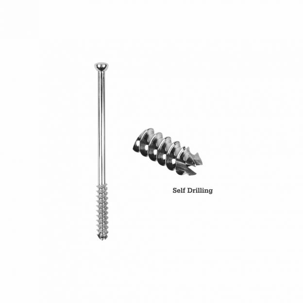 7.0mm Large Cancellous Cannulated Screw 32mm Thread