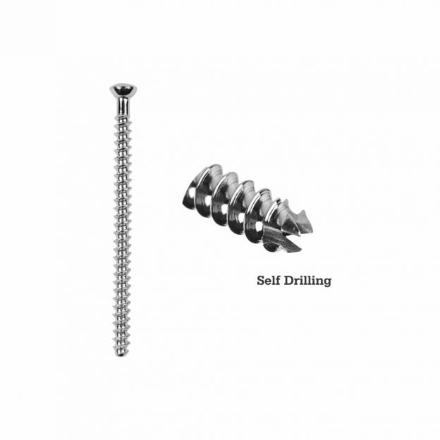 7.0mm Large Cancellous Cannulated Screw Full Thread